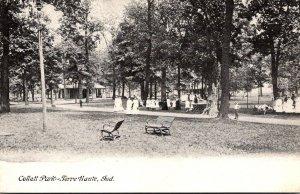 Indiana Terre Haute Scene In Collett Park
