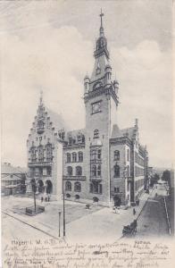 Hagen i. W. , district of Osnabrück, Lower Saxony, Germany , PU-1903 : Rathaus