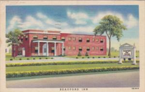 Pennsylvania Carlisle The Beauford Inn 1949 Curteich