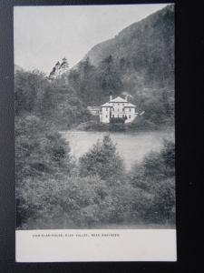 ELAN VALLEY LOST HOUSE Cwm Elan house The Poet Shelley's house Old Postcard