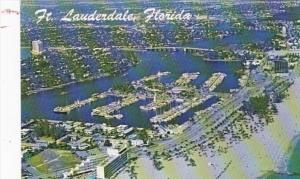 Florida Fort Lauderdale Aerial View Of Bahia Mar Yacht Basin