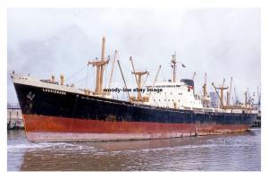 mc4278 - Bank Line Cargo Ship - Lossiebank , built 1963 - photo 6x4