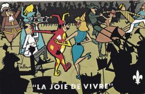 La Joie De Vivre,  Mardi-Gras, People Dancing, 40-60´s