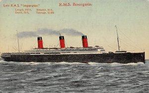 RMS Berengaria Cunard Line Ship Unused