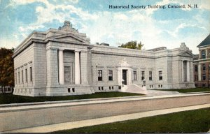 New Hampshire Concord Historical Society Building 1915 Curteich