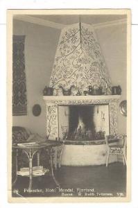 RP; Peisestue , Hotel Mundal , Fjærland , Norway , PU-1924