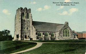 MA - East Northfield. Russell Sage Memorial Chapel