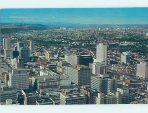 Unused Pre-1980 PANORAMIC VIEW Calgary Alberta AB H9978