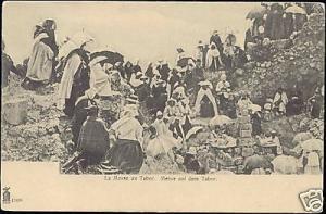 palestine, GALILEE, Mount TABOR, Mass (ca. 1899)