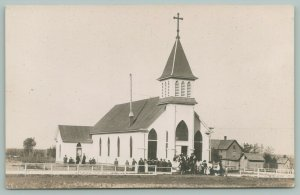 RPPC 10 Churches~Some Congregations~Steeples~.New Construction~Belfries~1905-20s