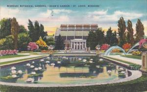 Missouri Botanical Gardens Shaw's Garden Saint Louis Missouri 1951