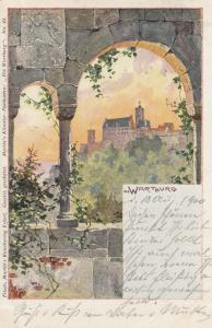 Die WARTBURG , Germany , 1900