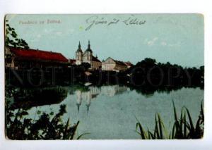 155804 Czech Republic ZELIV Vintage postcard