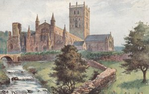 ST DAVID'S Cathedral , Pembrokeshire , Wales , 00-10s ; TUCK