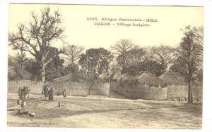 Afrique Occidentale, Village Indigene, Dakar, Senegal, Africa, 1900-1910s