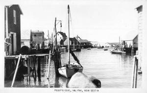 Halifax Nova Scotia Canada Peggys Cove Real Photo Antique Postcard K95942