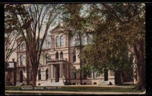 Parliament Bldg, Fredricton, NB 1907 colour PC
