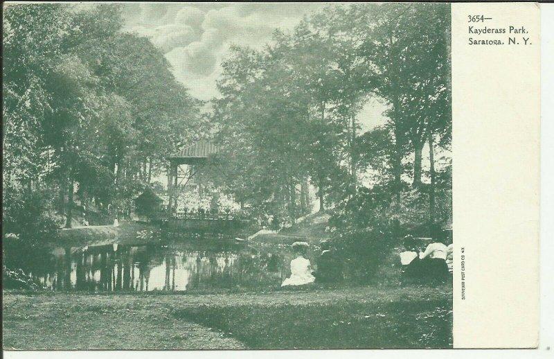Saratoga. N.Y., Kayderass Park