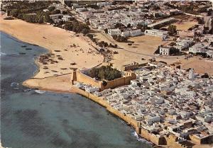 B91057 hammamet view of the medina tunisia