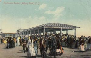 ASBURY PARK, New Jersey, PU-1909; Esplanade Review