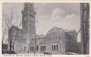 Fountain Saint Baptist Church Grand Rapids Michigan1934