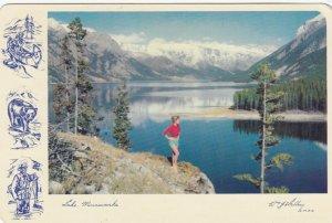 Lake Minnewanka , Alberta , Canada , 50-70s