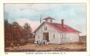 Public School in New Milford, New York