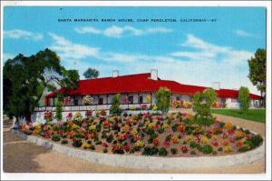 Santa Margarita Ranch House, Camp Pendleton CA