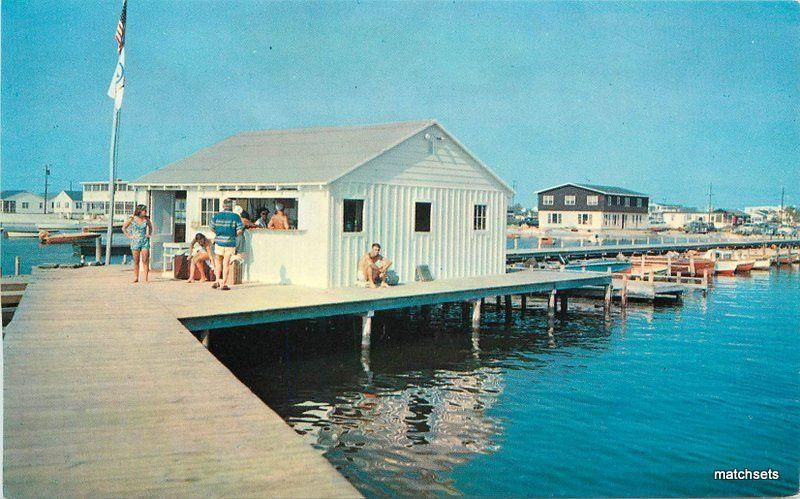1960s Pier At Dewey Beach Rehoboth Bay Maryland Tingle Colorpicture