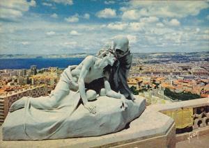 France Marseille Notre-Dame-De-La-Garde Le Crist et sainte Veronique