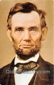 Abraham Lincoln, 16th President Unused
