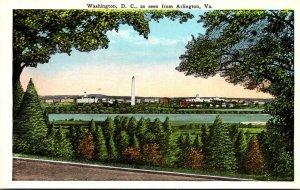 Washington D C As Seen From Arlington Virginia