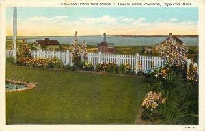 Cape Cod Massachusetts~Chatham~Joseph C Lincoln Estate~Ocean ~1916 Postcard