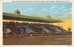 Henderson, KY USA Horse Racing Unused