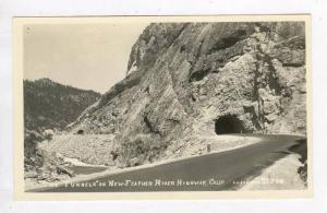 RP; Tunnels on New Feather River Highway,California,30-40s
