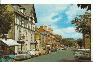 Wales Postcard - High Street - Bala - Gwynedd - Merionethshire - Ref 14070A