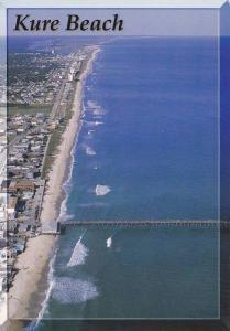Fishing Pier , KURE BEACH , North Carolina , 50-70s