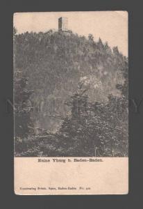 086681 GERMANY Ruine Yburg b. Baden-Baden Vintage PC