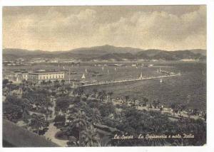 La Spezia, Italy, 20-40s La Capitaneria e molo Italia