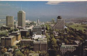 Aerial View, Ville de Quebec, VILLE DE QUEBEC, Quebec, Canada, 40-60´s