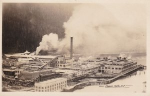 RP: Factory , OCEAN FALLS , B.C. , Canada , 1910-30s