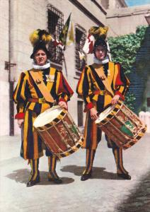 CITTA' DEL VATICANO, Italy, 1950-1970's; Swiss Guards