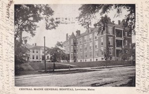 LEWISTON , Maine , PU-1907 ; Central Maine General Hospital