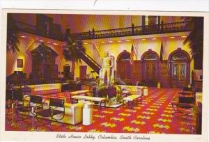 South Carolina Columbia State House Lobby