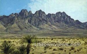 Organ Mountains Las Cruces NM Unused