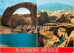 Modern Postcard Rainbow Bridge National Monument Utah Near the shores of Lake...