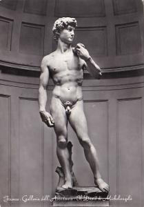 Italy Firenze Galleria Accademia Il David di Michelangelo 1957 Photo