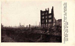 CA - San Francisco. 1906 Earthquake & Fire. Pioneer Building