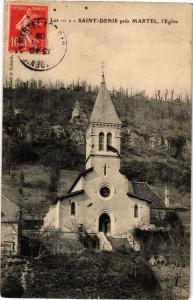 CPA   Saint Denis prés Martel - l'Eglise    (223915)