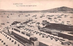 Top of Casemates and Spanish Ground Gibraltar Unused